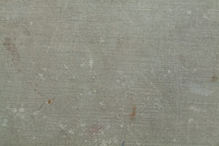Dirty grey canvas texture. Grey background Royalty Free Stock Image