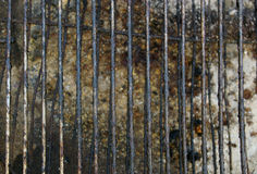 Dirty grill texture Stock Image