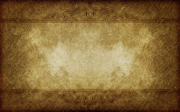 Dirty grunge paper vintage victorian style. Old grunge paper background with vintage victorian style Stock Photo
