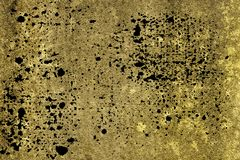 Grunge Ultra yellow Concrete cement texture, stone surface, rock background royalty free stock images