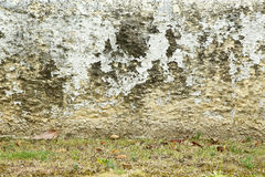 Dirty grungy wall with flaky paint Royalty Free Stock Photography