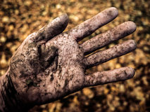 Dirty Hand Stock Images