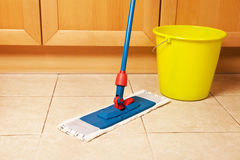 Dirty house cleaning Stock Photos