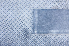 Dirty industrial grip floor texture Stock Image