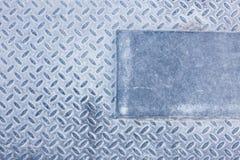 Dirty industrial grip floor texture. Pattern Stock Image