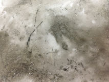 Dirty ink residue background. The background of the ink on the white ceramic plate, the background of the drawing plate, the artistic background Stock Image
