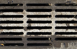 Dirty iron grid Royalty Free Stock Images