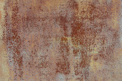 Dirty iron rusty metallic wall background Stock Photo