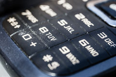 Dirty keypad royalty free stock images