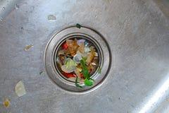 Dirty Kichen Sink Stock Photos