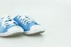 Dirty kid shoe Stock Photography