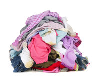 Dirty Laundry royalty free stock image