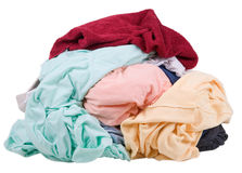 Dirty laundry. A pile of dirty laundry Stock Photo