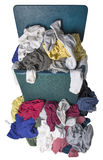 Dirty Laundry in Hamper Royalty Free Stock Images