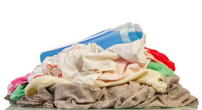 Dirty laundry isolated Royalty Free Stock Image