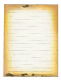Dirty lined paper Stock Photography