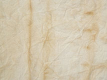 Dirty linen cloth Royalty Free Stock Photos