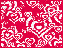 Dirty love. Illustration,  background,  vector Stock Photos