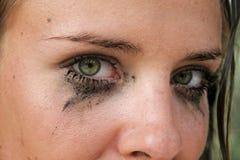 Dirty make-up Stock Photos