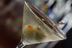 Dirty martini Stock Photo