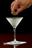 Dirty martini Royalty Free Stock Photo