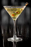 Dirty martini Stock Images