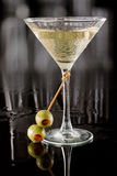 Dirty martini stock photography