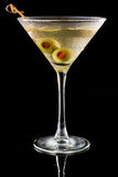 Dirty martini Stock Image