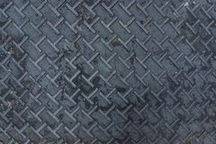 Dirty metal diamond grip T pattern texture. Dirty of metal diamond grip T pattern texture Royalty Free Stock Images