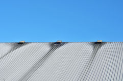 Dirty metal roof Stock Images