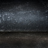 Dirty metal surface room background Royalty Free Stock Photography