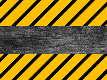 Dirty metal texture - Industrial - Warning Royalty Free Stock Photography