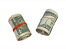 Dirty Money Stock Image