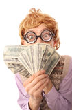 Dirty money Royalty Free Stock Photography
