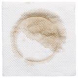 Dirty napkin Royalty Free Stock Photo