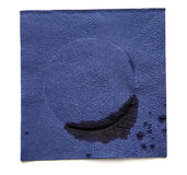 Dirty napkin Stock Images