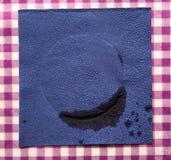 Dirty napkin Royalty Free Stock Photos