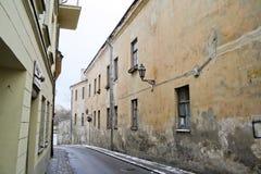 Dirty narrow streets Stock Photos