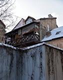Dirty narrow streets Stock Photo
