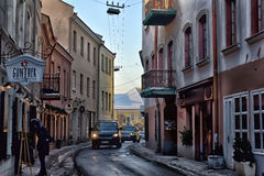 Dirty narrow streets Royalty Free Stock Photography