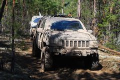 Dirty off-road Stock Photo