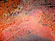 Dirty oily water Stock Photography
