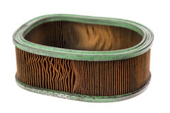 Dirty old air filter Royalty Free Stock Photo