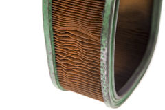 Dirty old air filter Royalty Free Stock Image