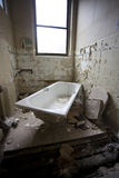 Dirty old bath Royalty Free Stock Photos