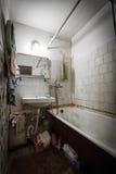 Dirty old bathroom Stock Photos