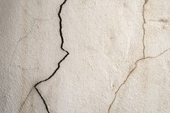 Dirty old cracked concrete wall background Stock Image