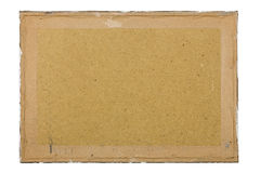 Dirty old fiberboard background Royalty Free Stock Photography