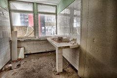 Dirty, old and forgotten room Royalty Free Stock Photo