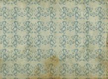 Dirty and Old grungy wallpaper. Old dirty and worn wallpaper style grungy Stock Images